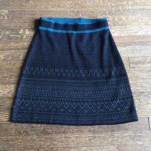 Classic wool sweater skirt